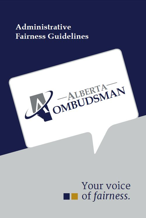 Administrative Fairness Guidelines (Cover)