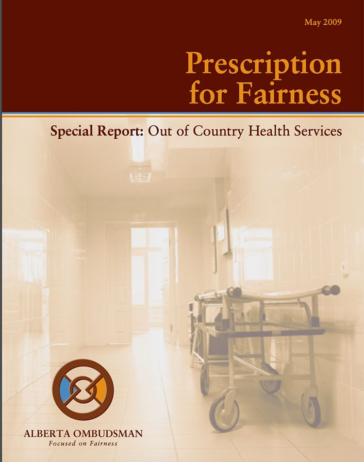 Prescription for Fairness - Out of country health services